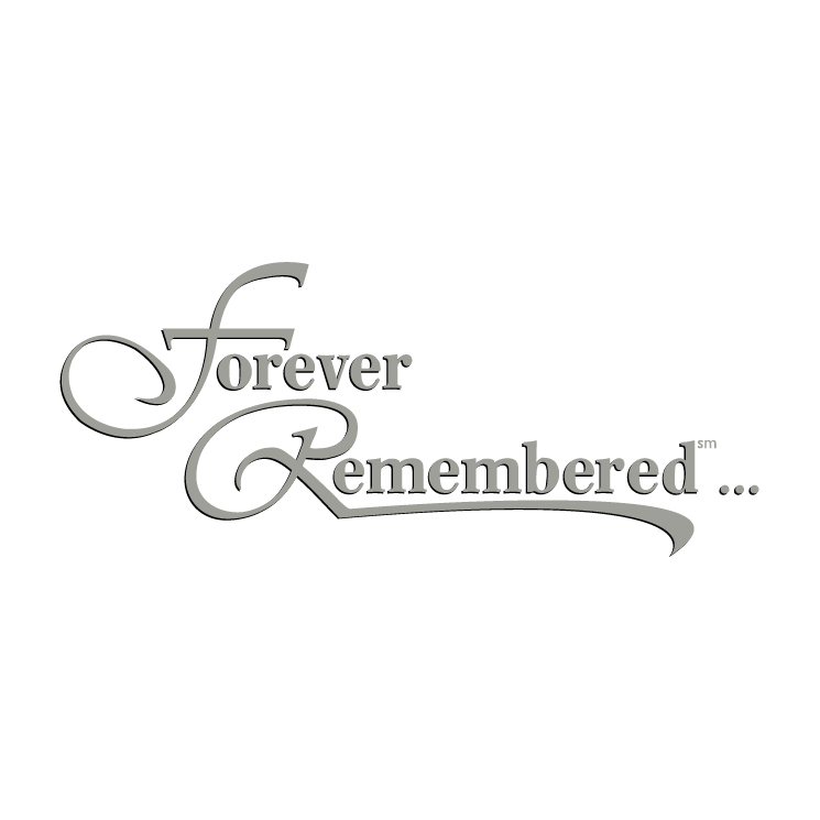 free vector Forever remembered