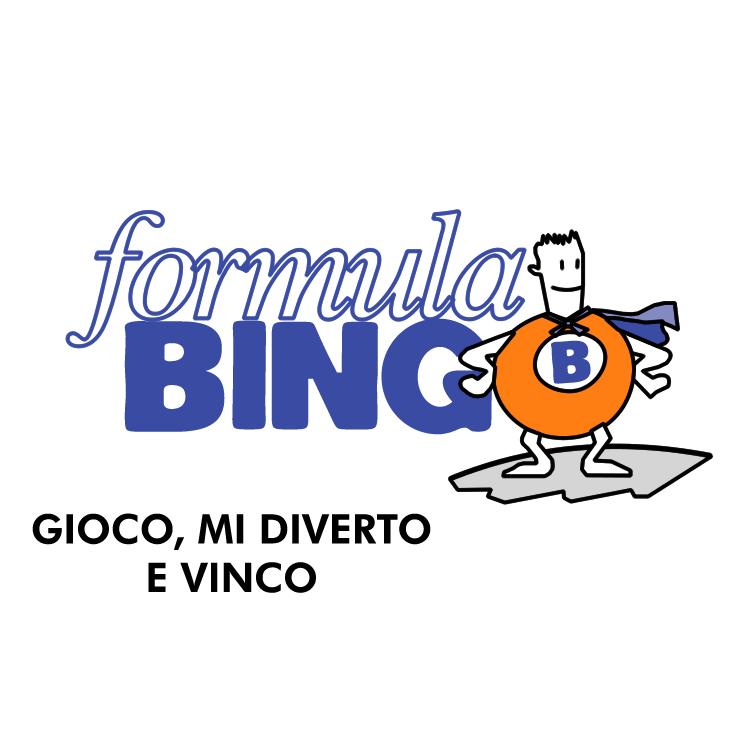 free vector Formula bingo