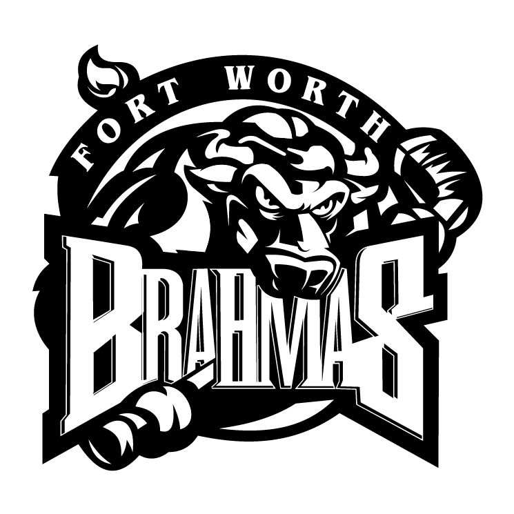 free vector Fort worth brahmas