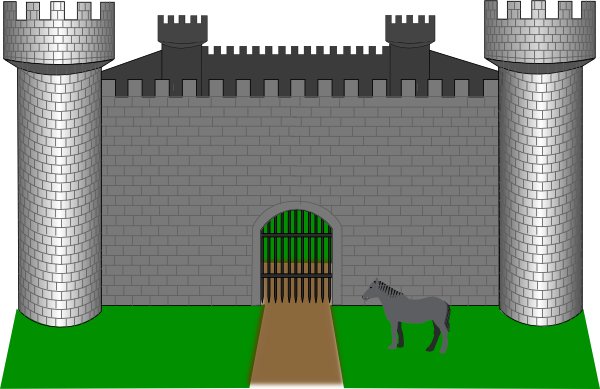 free vector Fortress Fantasy clip art