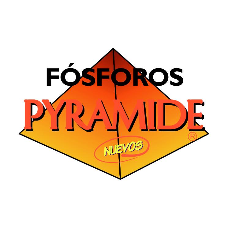 free vector Fosforos pyramide