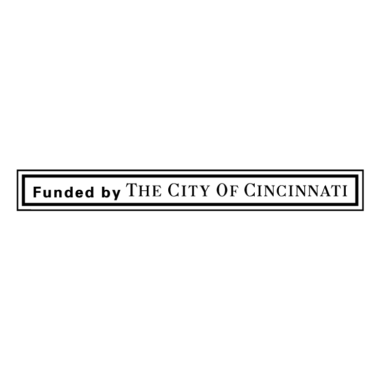 free vector Founded by the city of cincinnati