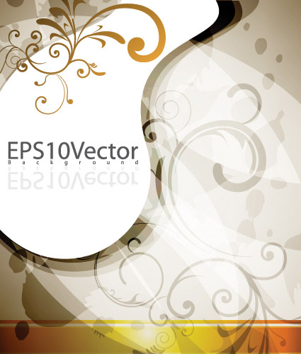 free vector Four elegant background pattern vector