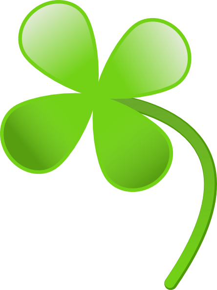 free vector Four Leaves Clover clip art