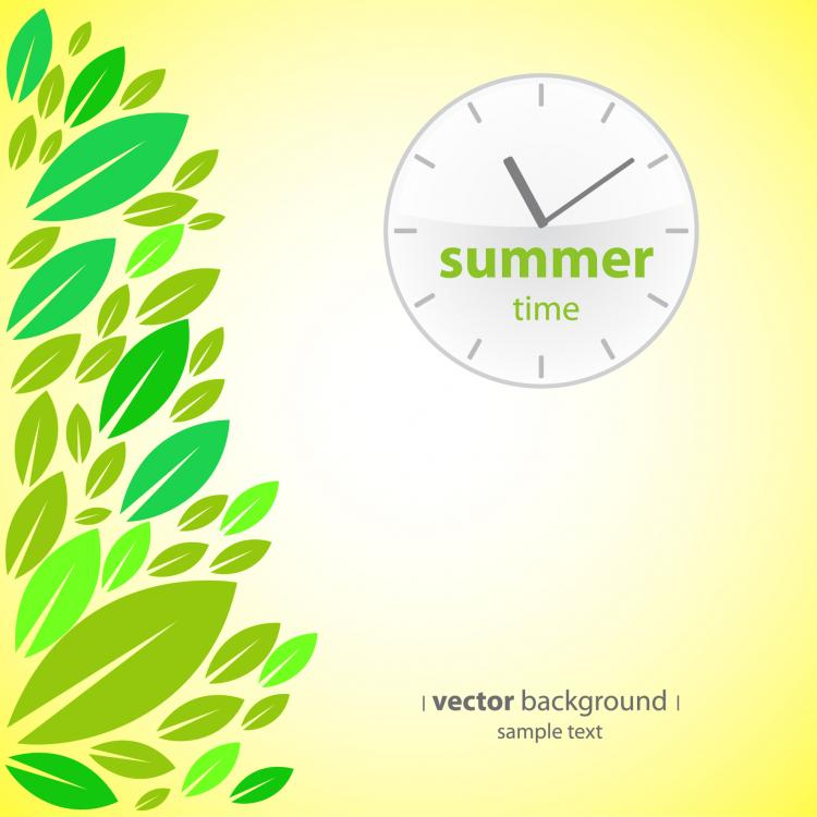 free vector Four seasons presentation vector
