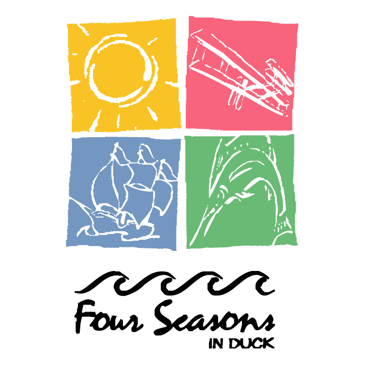free vector Four seasons