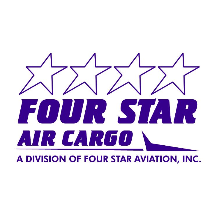 free vector Four star air cargo