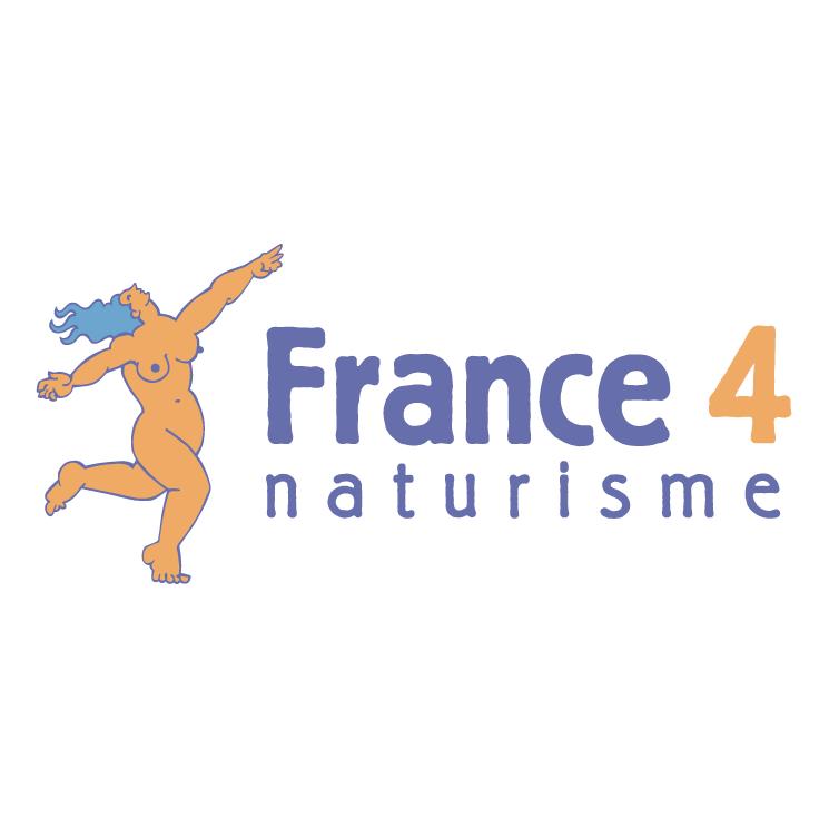 free vector France 4 naturisme