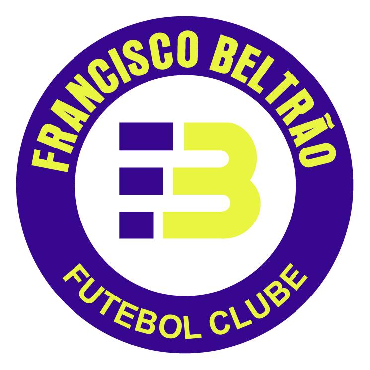 free vector Francisco beltrao futebol clube de francisco beltrao pr