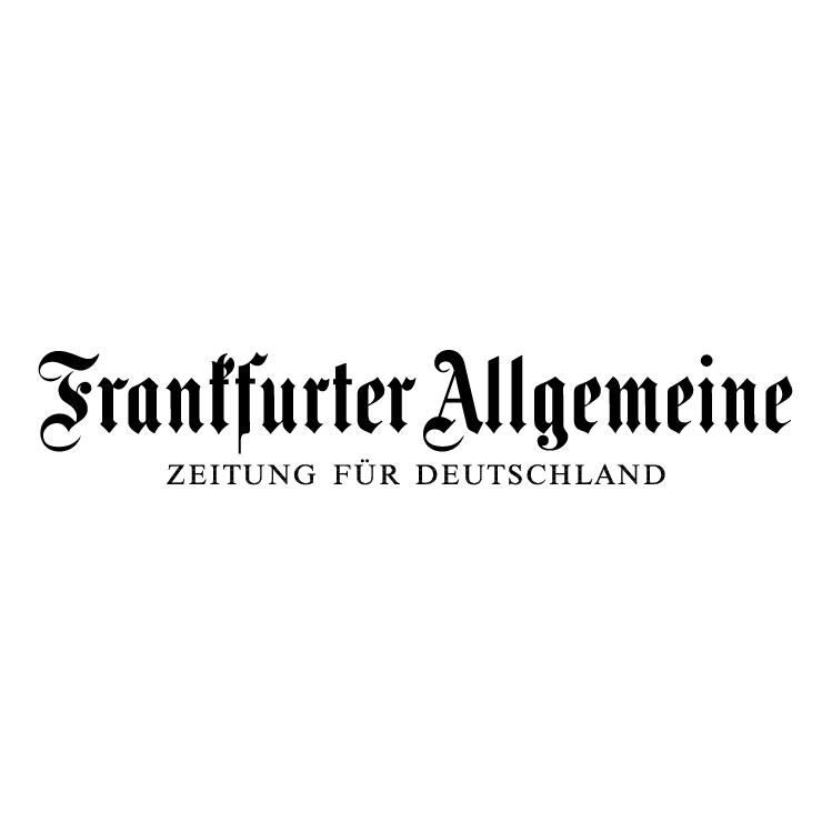 free vector Frankfurter allgemeine