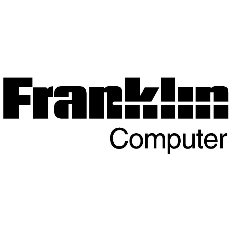 free vector Franklin computer