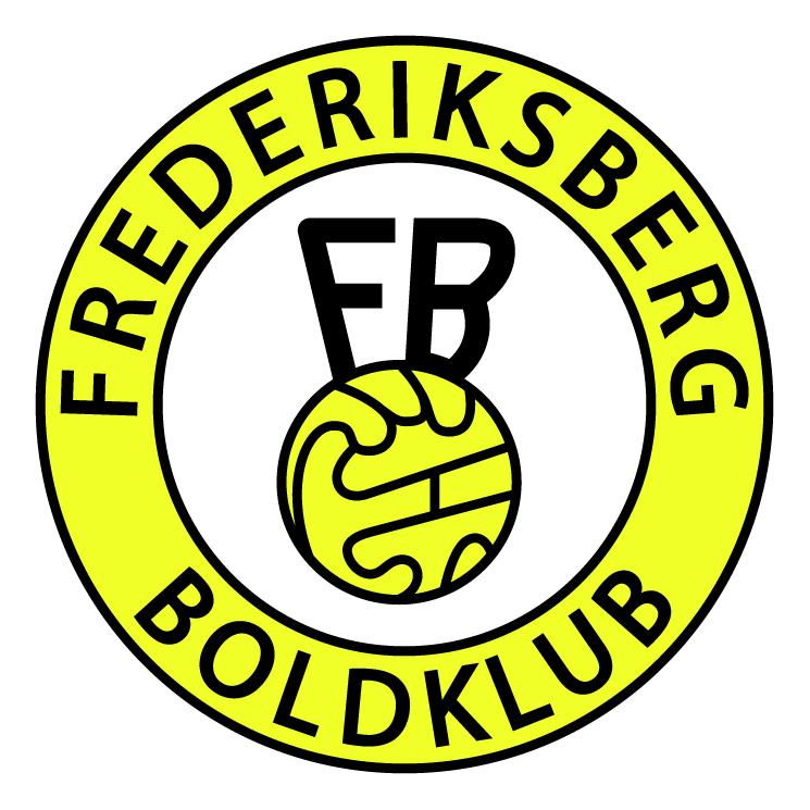 free vector Frederiksberg boldklub