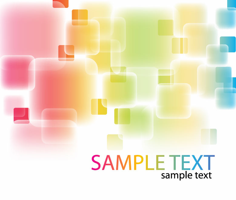 free vector Free Abstract Colorful Background Vector