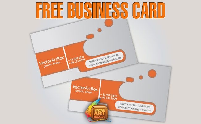 free vector Free Business Card