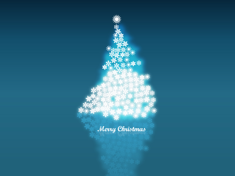 free vector Free Christmas Tree Vector Graphic Pack