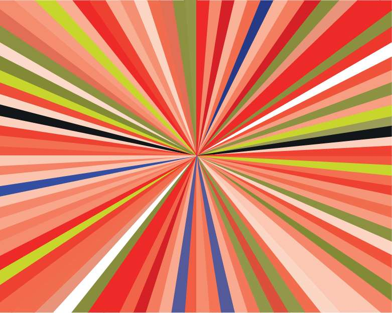 free vector Free Colorful Burst Vector Illustration