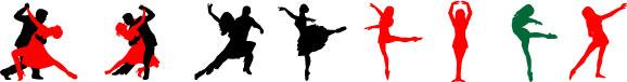 free vector Free Dancing Vectors