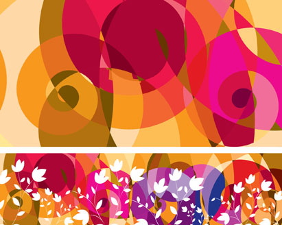 free vector Free Fashion Pattern Vector Background Abstract Floral