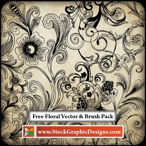 free vector Free Floral Vector Pack