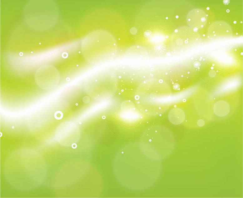 free vector Free Green Bokeh Abstract Light Background Vector Illustration