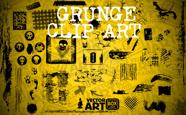 free vector Free Grunge Clip Art