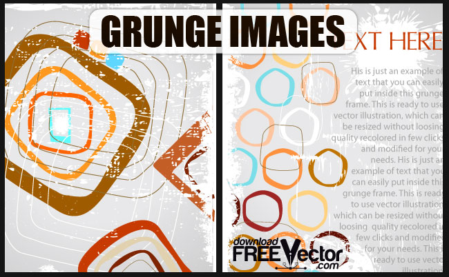 free vector Free Grunge Images