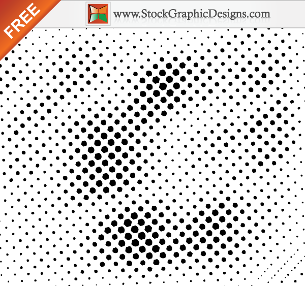 free vector Free Halftone Vector Design Elements