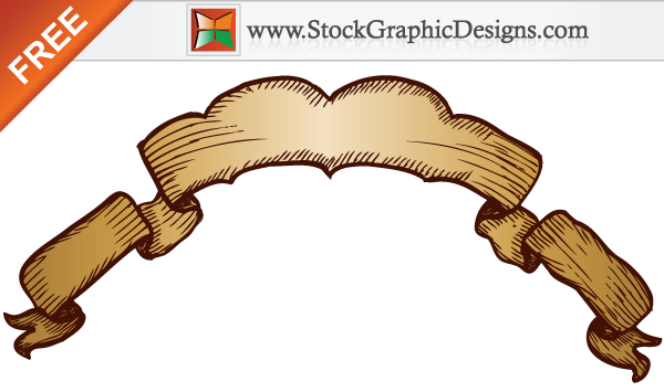free vector Free Hand Drawn Banner Vector