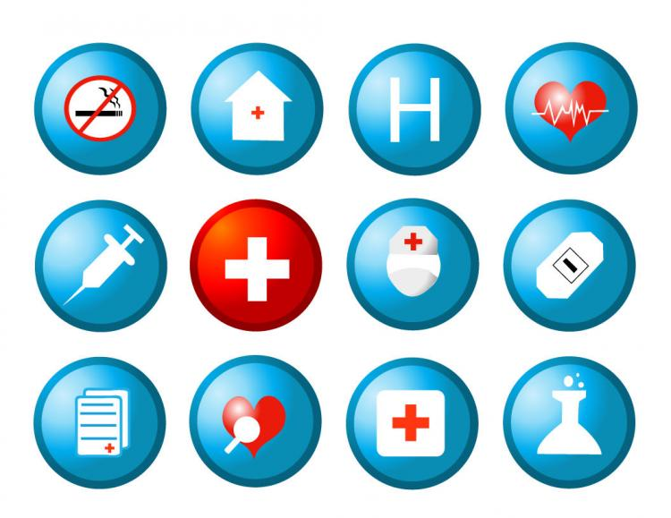 free vector Free Medical and Health Vector Icons