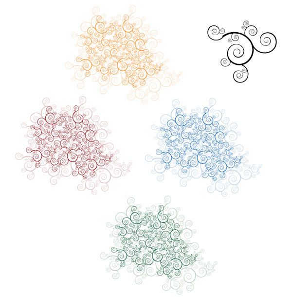 Organic Vector Shapes Images