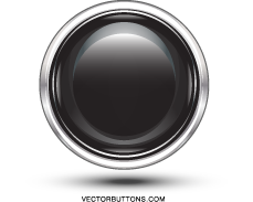 free vector Free Platinum Black Circle Button