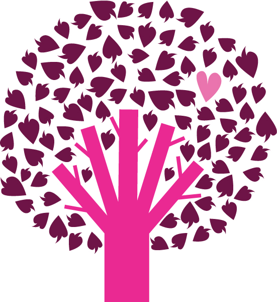 free vector Free tree with heart