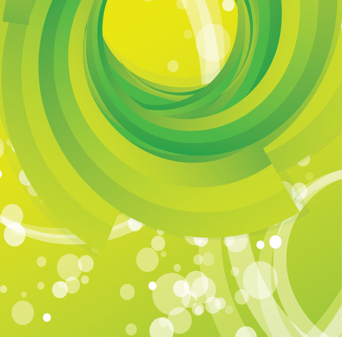 free vector Free Vector Abstract Green Swirl Background