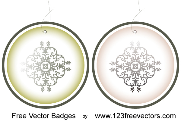 free vector Free Vector Badges