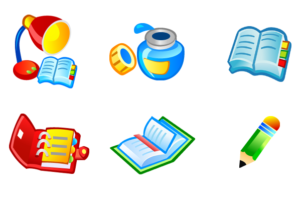 free vector Free Vector Book Icons