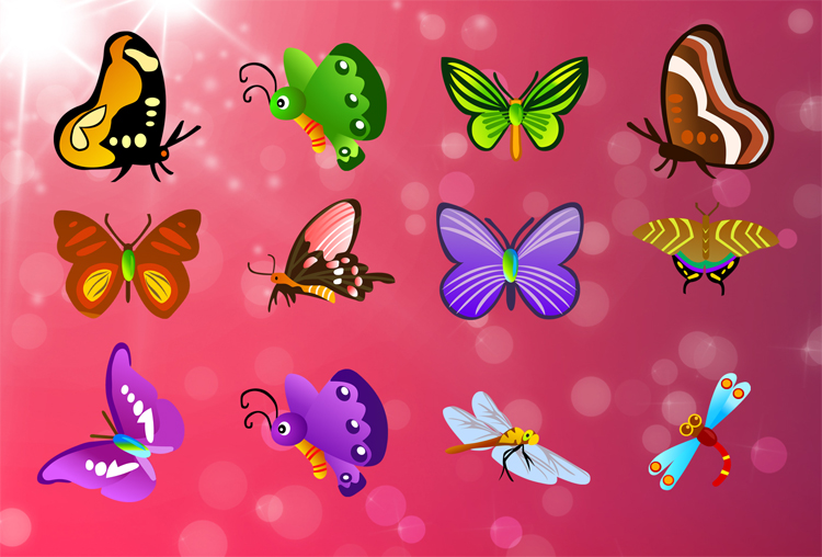 free vector Free Vector Butterfly