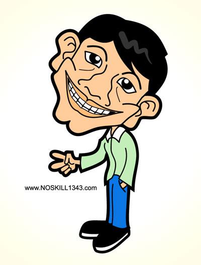 free vector Free Vector Cartoon Caricature