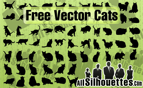 free vector Free Vector Cats