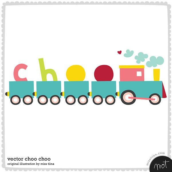 free vector Free Vector Choo Choo Train