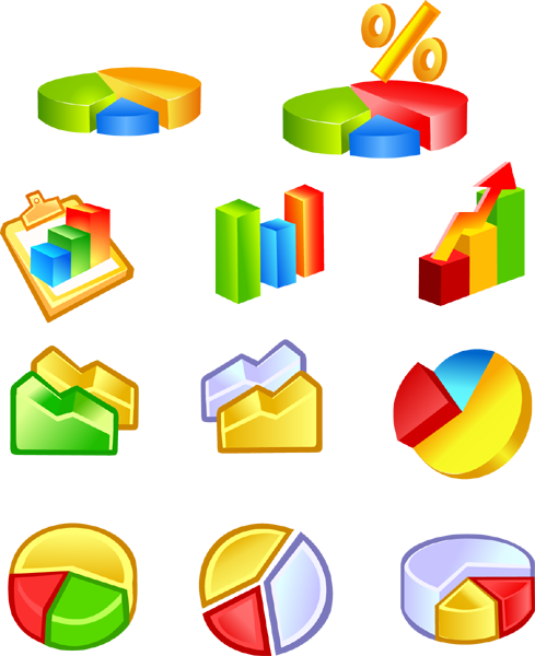 Free Diagram Icons  20153  Free Ai Download    4 Vector
