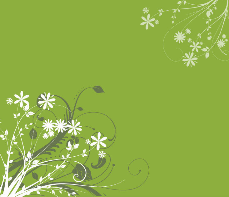 free vector Free Vector Floral Background