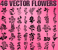 free vector Free Vector Flowers