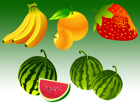 free vector Free Vector Fruit