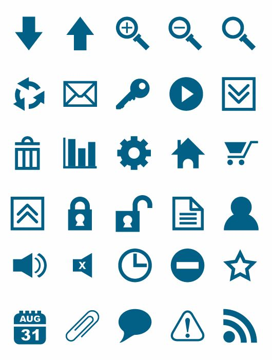 free vector Free Vector Icon Set