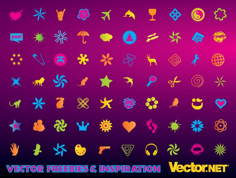 free vector Free Vector Icons Set
