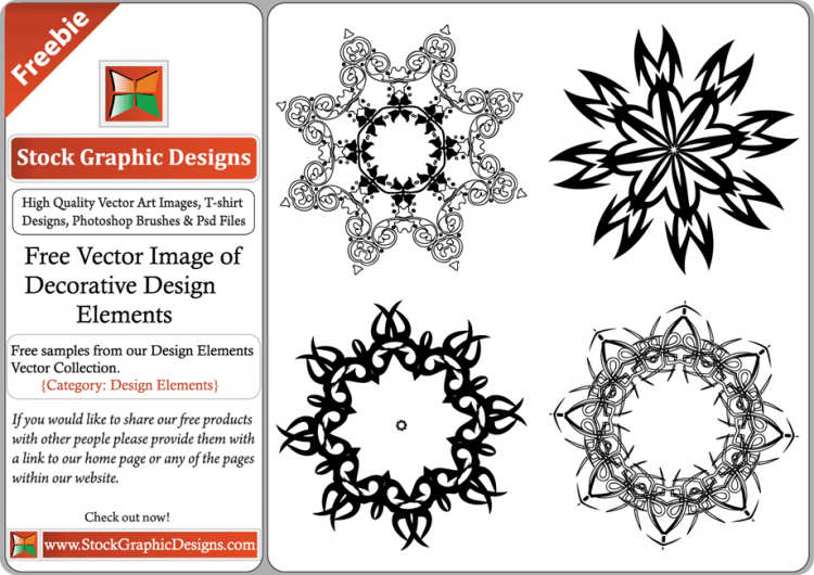 free vector Free Vector Image of Decorative Design Elements