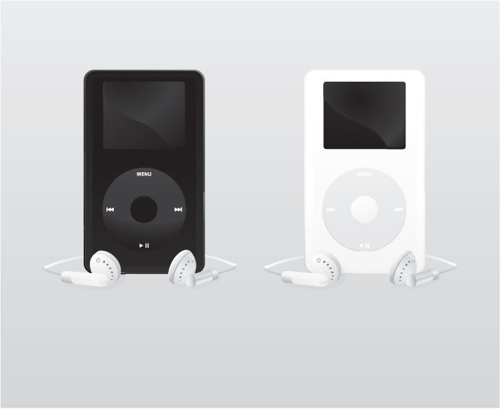 free vector Free Vector Ipod