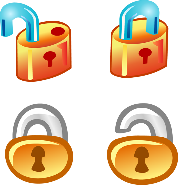 free vector Free Vector Lock Icons