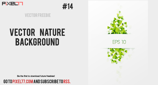 free vector Free Vector Nature Background