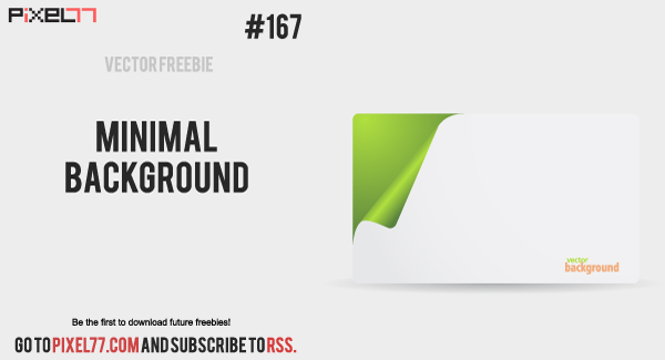 free vector Free Vector of the day #167: Minimal Background